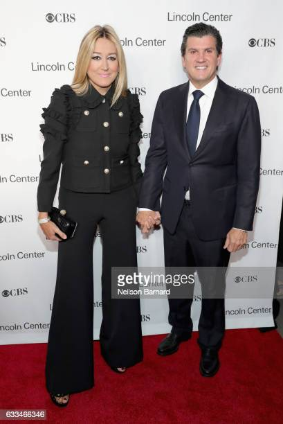 Marigay McKee and Bill Ford attend Lincoln Center's American Songbook Gala red carpet at Alice Tully Hall on February 1 2017 in New York City