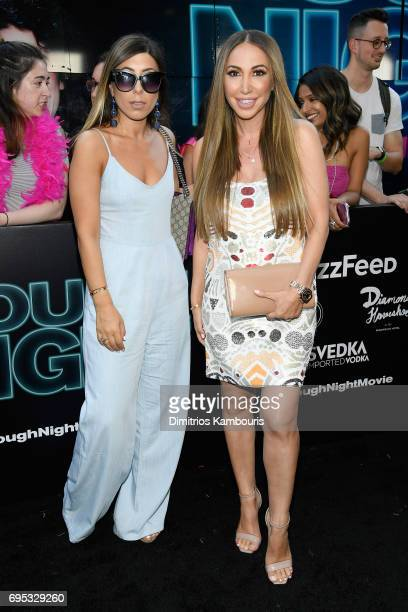 Marigo Mihalos and Diana Madison attend the 'Rough Night' premeire at AMC Loews Lincoln Square on June 12 2017 in New York City