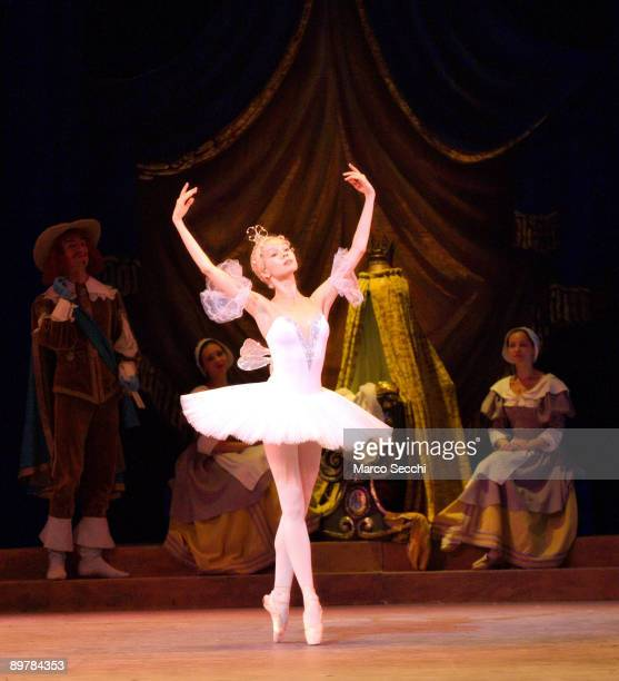 Mariinsky ballet at 'The Sleeping Beauty' photocall at The Royal Opera House on August 14 2009 in London England