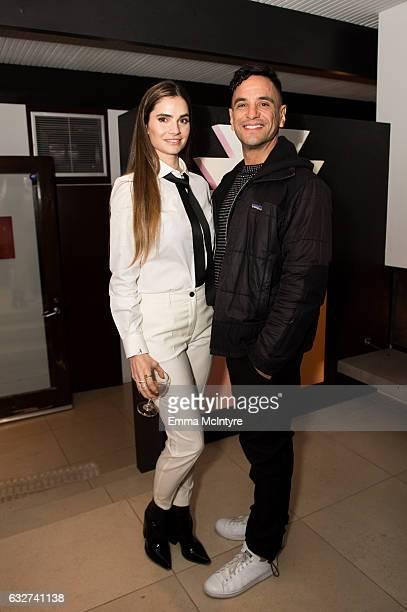 Marija Karan and guest attend 'Art Los Angeles Contemporary host committee members and collectors Joel Lubin and wife Marija Karan host ALAC 2017...