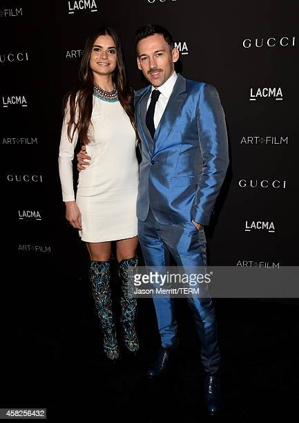 Marija Karan and Joel Lubin attend the 2014 LACMA Art Film Gala honoring Barbara Kruger and Quentin Tarantino presented by Gucci at LACMA on November...