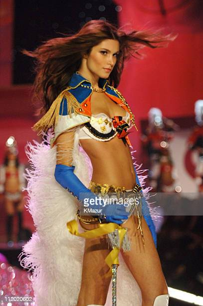 Marija Vujovic during 10th Victoria's Secret Fashion Show Runway at The New York State Armory in New York City New York United States