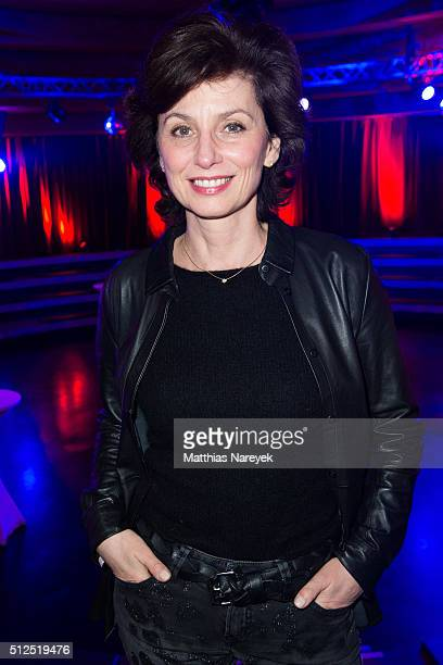 Marijam Agischewa attends the Berlin premiere of the show 'Holiday on Ice Passion' on February 26 2016 in Berlin Germany