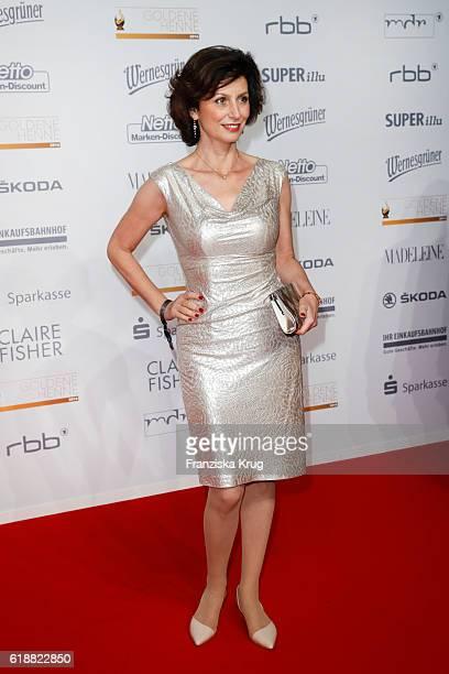 Marijam Agischewa attends the Goldene Henne on October 28 2016 in Leipzig Germany