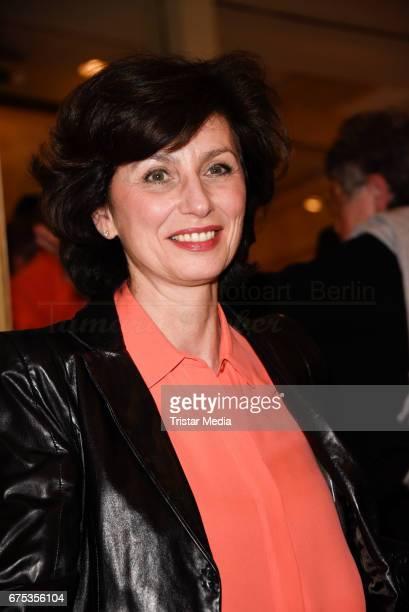 Marijam Agischewa attends the 'Wir sind die Neuen' Premiere at Kudamm on April 30 2017 in Berlin Germany