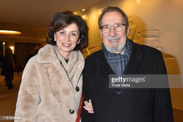 Marijam Agischewa Georg Alexander during the Skylight' theater premiere at Schiller Theater on December 1 2019 in Berlin Germany
