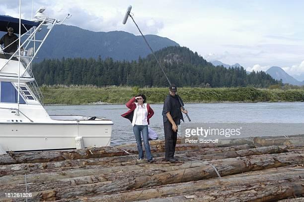 Marijam Agischewa Tonassistent ZDFReihe Traumschiff Folge 50 Episode 3 Eine Mutter ein Sohn und Victor Pitt Maedows Vancouver British Columbia Kanada...
