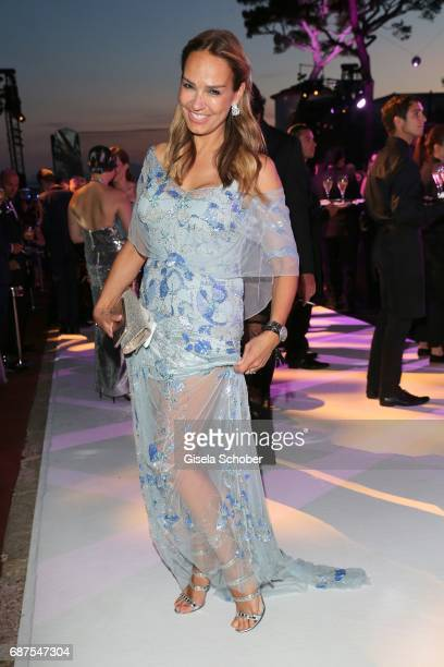Marijana Matthaeus former wife of Lothar Matthaeus during the DeGrisogono Love On The Rocks gala during the 70th annual Cannes Film Festival at Hotel...