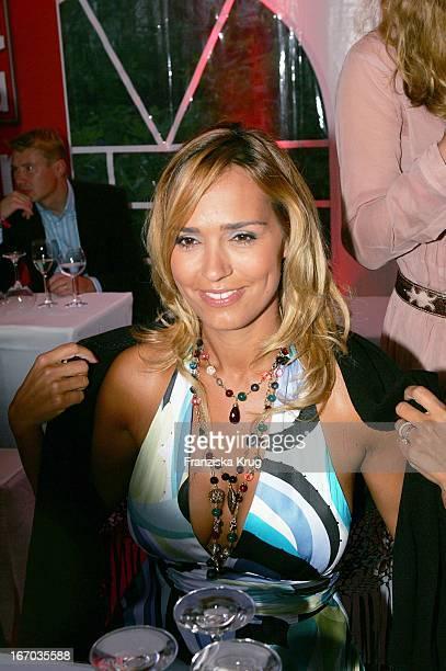 Marijana Matthäus Bei Der Verleihung Des Dritten Sport Bild Award In Der Insel Am Alsterufer In Hamburg Am 080805