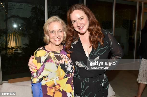 Marijean Miyar and Natalia Miyar attend the Marcelo Bonevardi / The Miami Rail Celebration at Miami Design District on December 8 2017 in Miami...