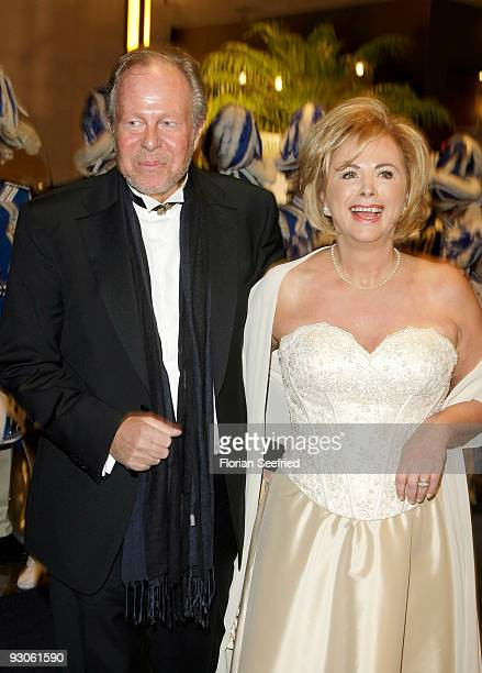 Marijke Amado and guest attend the Unesco Charity Gala 2009 at the Maritim Hotel on November 14 2009 in Dusseldorf Germany