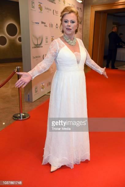 Marijke Amado attends the 6th SchutzengelGala at The Westin Hotel on September 22 2018 in Leipzig Germany