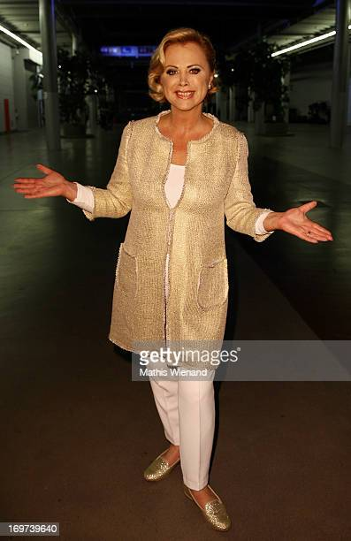 Marijke Amado attends the Let's Dance Final at Coloneum on May 31 2013 in Cologne Germany