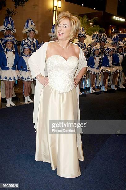 Marijke Amado attends the Unesco Charity Gala 2009 at the Maritim Hotel on November 14 2009 in Dusseldorf Germany