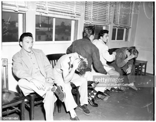 Marijuana arrests May 16 1951 Mario Morales Acevedo 21 yearsMilton G Sullivan 19 yearsJack E Browne 18 yearsJohn C Brandt 19 yearsBarry D Budwig 19...