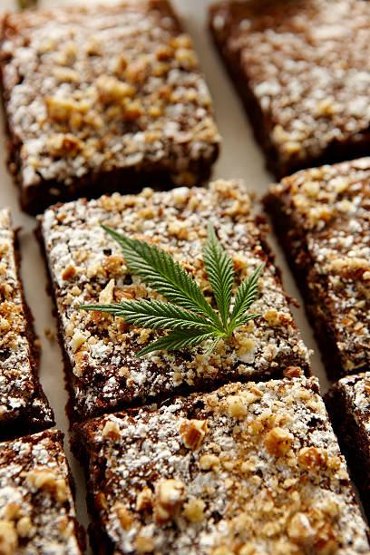 Marijuana Brownies Wall Art