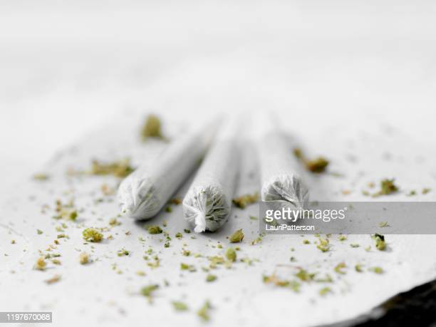 marijuana joints - marijuana joint stock pictures, royalty-free photos & images