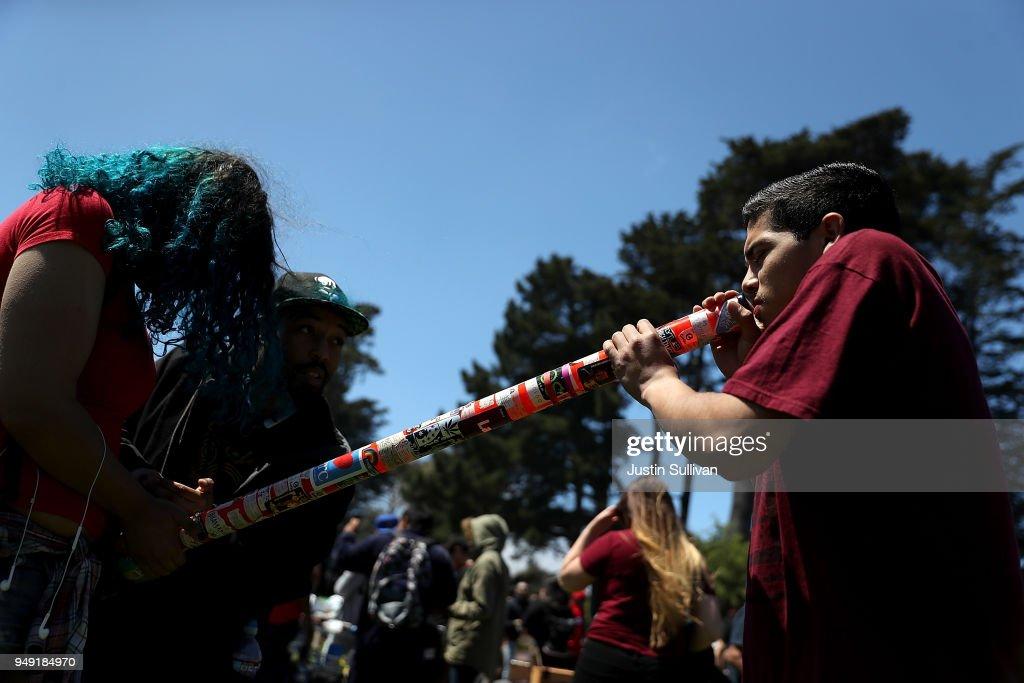 "Annual Marijuana ""Holiday"" 4/20 Celebrated In San Francisco"