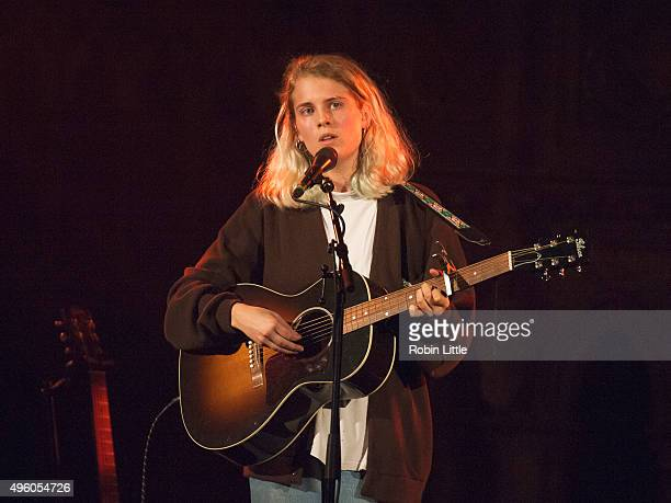 Marika Hackman performs at the Union Chapel on November 6 2015 in London England