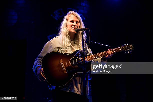 Marika Hackman performs on stage at Brudenell Social Club on April 1 2015 in Leeds United Kingdom
