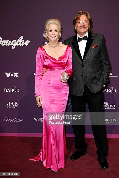 Marika Kilius and Horst Farre attend the Babor At Duftstars Awards 2014 at Arena Berlin on May 15 2014 in Berlin Germany