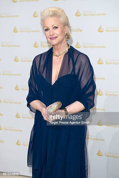 Marika Kilius attends the awarding of the 'Goldene Sportpyramide 2014' at Hotel Adlon on May 16 2014 in Berlin Germany