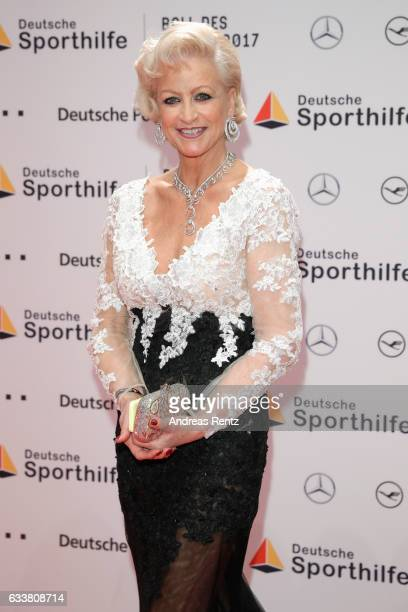 Marika Kilius attends the German Sports Gala 'Ball des Sports 2017' on February 4 2017 in Wiesbaden Germany