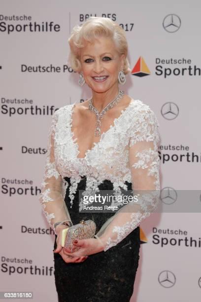 Marika Kilius attends the German Sports Gala 'Ball des Sports 2017' on February 4 2017 in Wiesbaden Germany