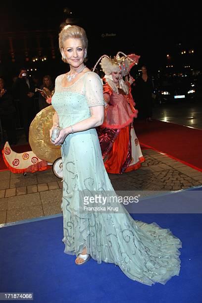 Marika Kilius the German Opera Ball In The Old Open In Frankfurt