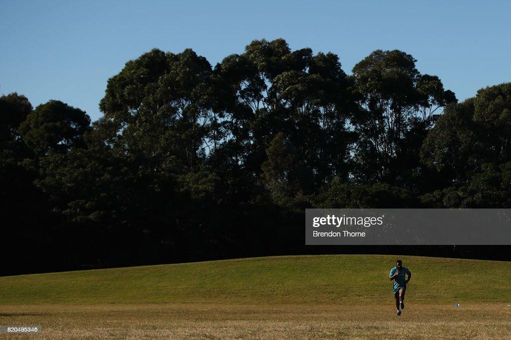 Australian Wallabies Training Session