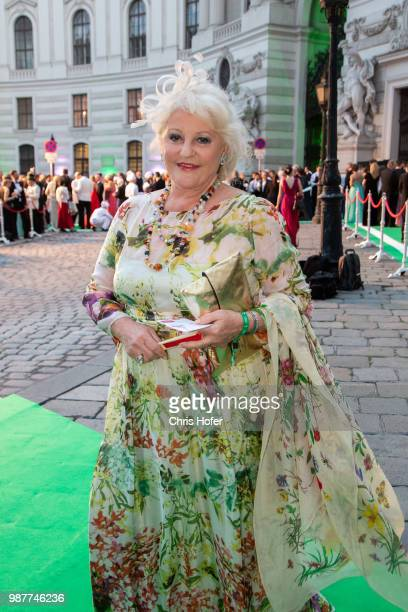 Marika Lichter during the Fete Imperiale 2018 on June 29 2018 in Vienna Austria