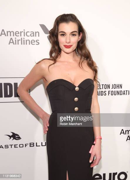 Marikah Cunningham attends 27th Annual Elton John AIDS Foundation Academy Awards Viewing Party Celebrating EJAF And The 91st Academy Awards on...