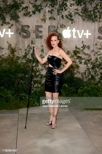 Marilee Talkington attends the world premiere of Apple TV's See at Fox Village Theater on October 21 2019 in Los Angeles California