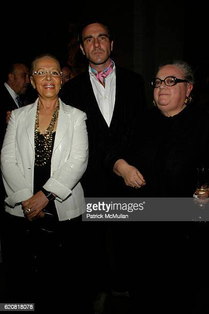 Marilena Ferrari, Paolo Canevari and Lisa Guest attend The Return of FMR Magazine at The Metropolitan Museum on March 13, 2008 in New York City.