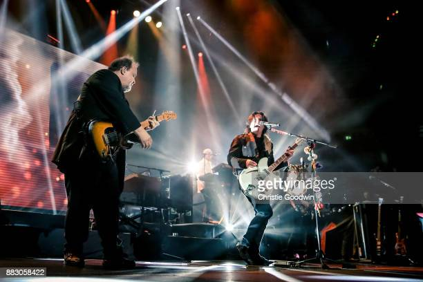 Marillion performs on stage at The Royal Albert Hall on 13 October 2017 in London England