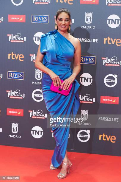 Marilo Montero attends the Platino Awards 2017 photocall at the La Caja Magica on July 22 2017 in Madrid Spain