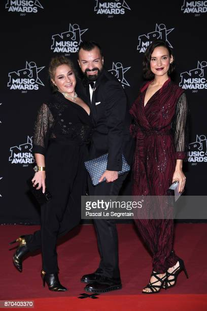 Marilou Berry and Natoo attend the 19th NRJ Music Awards on November 4 2017 in Cannes France