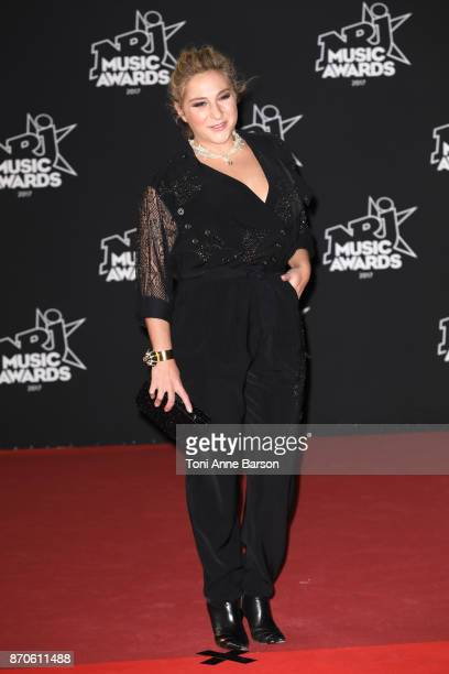 Marilou Berry arrives at the 19th NRJ Music Awards ceremony at the Palais des Festivals on November 4 2017 in Cannes France