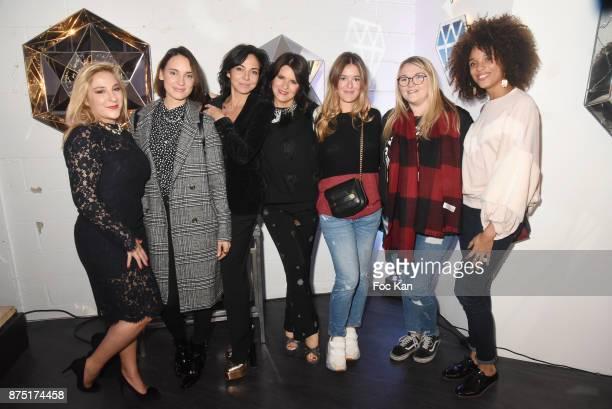 Marilou Berry, daughter of Sandra Zeitoun, Sandra Zeitoun de Matteis, Lolita Lempicka, Lauren Leslie Acar Lempicka, a guest and Stefi Celma attend...