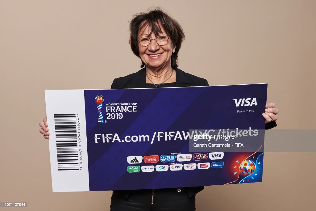 Final Draw for the FIFA Women's World Cup 2019 France - Studio Portraits : News Photo