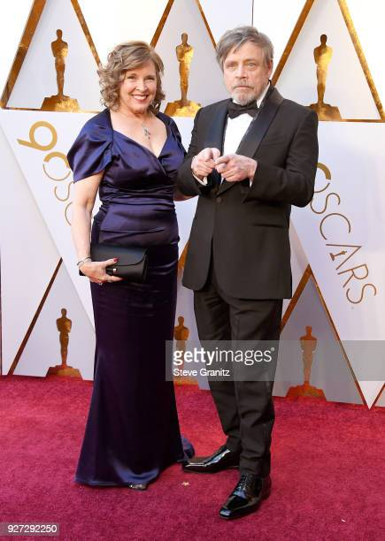 Marilou Hamill and Mark Hamill attend the 90th Annual Academy Awards at Hollywood Highland Center on March 4 2018 in Hollywood California