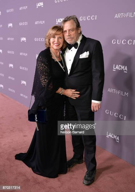 Marilou York and actor Mark Hamill attend the 2017 LACMA Art + Film Gala Honoring Mark Bradford and George Lucas presented by Gucci at LACMA on...