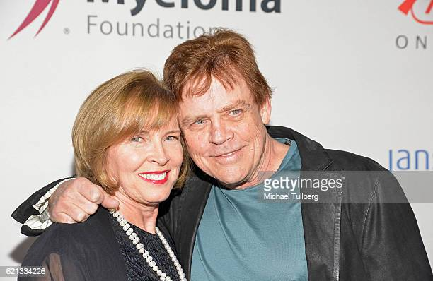 Marilou York and actor Mark Hamill attend the International Myeloma Foundation's 10th Annual Comedy Celebration at The Wilshire Ebell Theatre on...