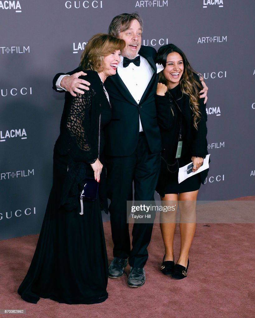 Marilou York and Mark Hamill attend the 2017 LACMA Art + Film Gala at LACMA on November 4, 2017 in Los Angeles, California.