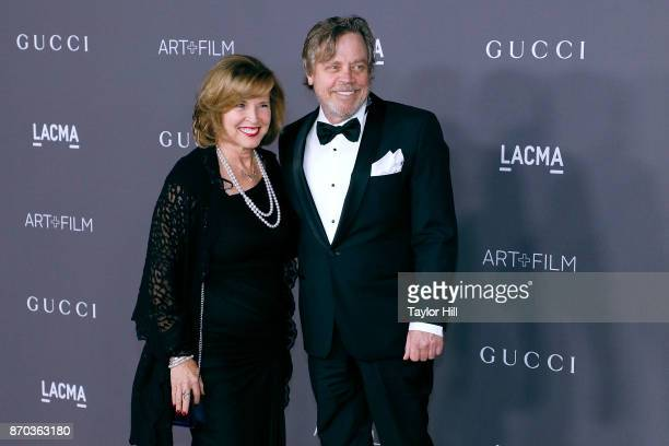 Marilou York and Mark Hamill attend the 2017 LACMA Art Film Gala at LACMA on November 4 2017 in Los Angeles California