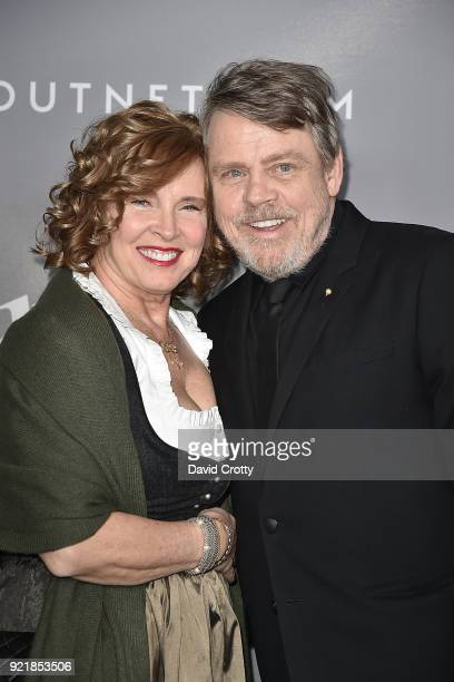 Marilou York and Mark Hamill attend the 20th CDGA Arrivals on February 20 2018 in Beverly Hills California