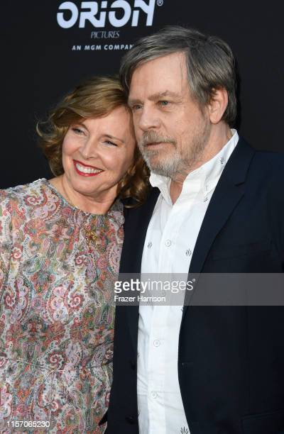 Marilou York and Mark Hamill attend the Premiere of Orion Pictures and United Artists Releasing's Child's Play at ArcLight Hollywood on June 19 2019...