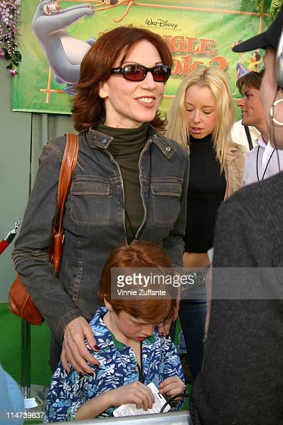 Marilu Henner and son attending the premiere of The Jungle Book 2 February 9 2003 The El Capitan Theater Hollywood CA