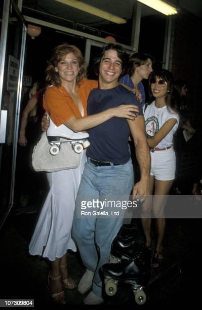 Marilu Henner and Tony Danza during Tony Danza and Marilu Henner at Sherman Way Skating Rink in Reseda California September 17 1979 at Sherman Way...