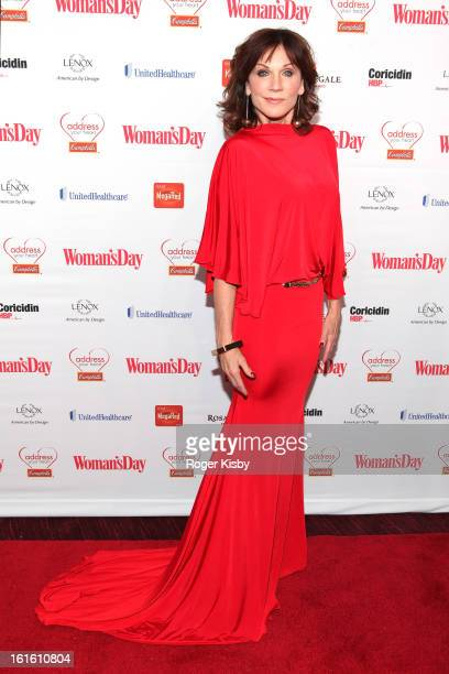 Marilu Henner attends the 10th Annual Red Dress Awards at Jazz at Lincoln Center on February 12 2013 in New York City